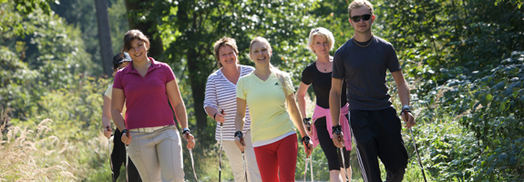 Nordic Walking Strecken - AktiVital Hotel Bad Griesbach