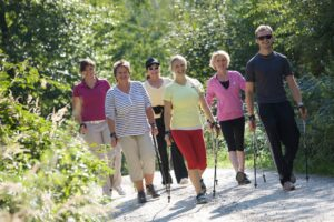 Nordic Walking AktiVital Hotel in Bad Griesbach