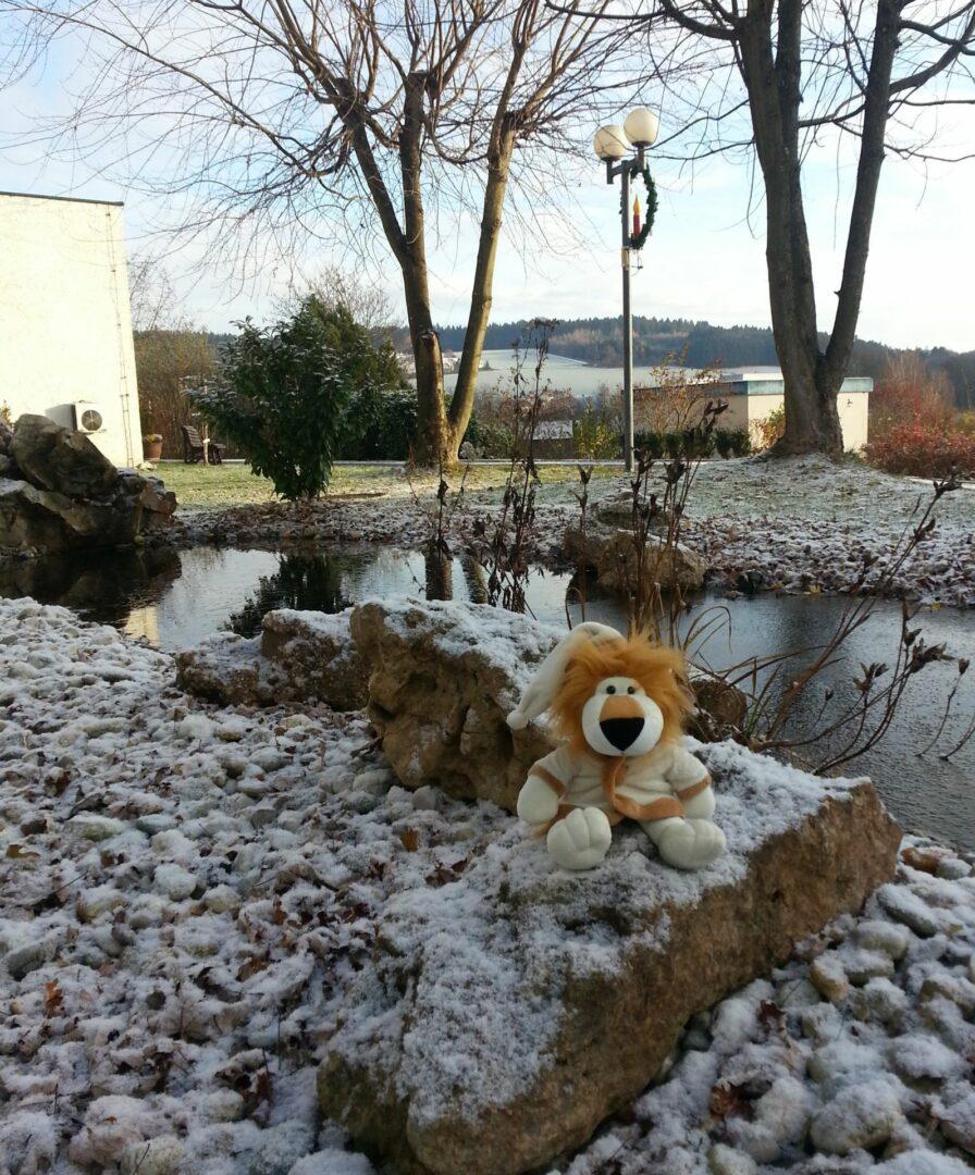 Der erste Schnee in Bad Griesbach